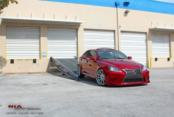 06-13 Lexus IS NIA conversion 3IS bumper kit 2006 2007 2008 2009 2010 2011 2012 2013 2is 2