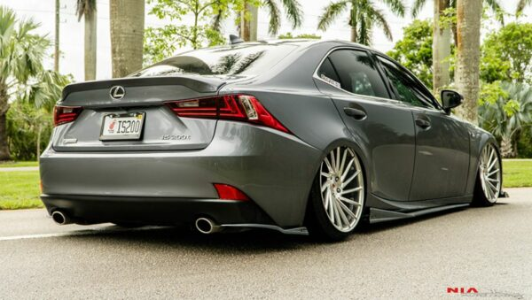 14-16 Lexus IS Non F-sport Full Splitter Lip Body Kit 5 Pieces pcs 2014 2015 2016 3