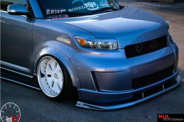 2008 2009 scion xb eyelids painted