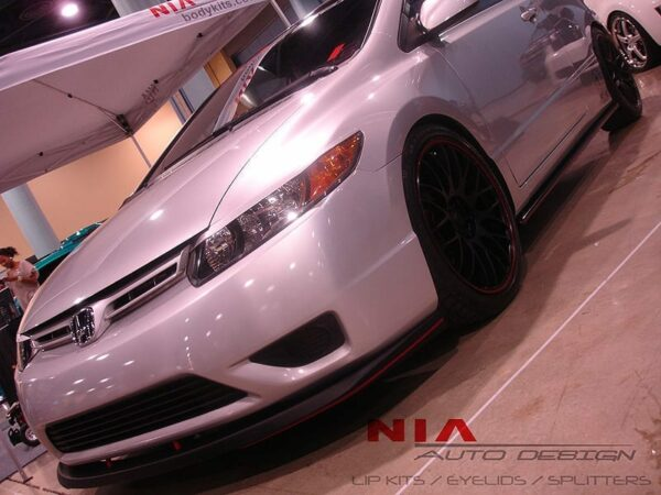 Honda Civic 2 door NIA Front splitter 2006 2007 2008 2009 2010