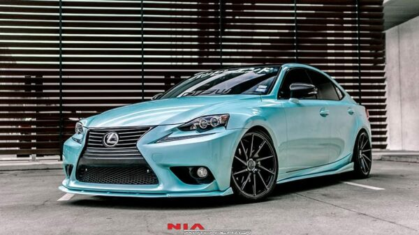 lexus is non f sport front lip