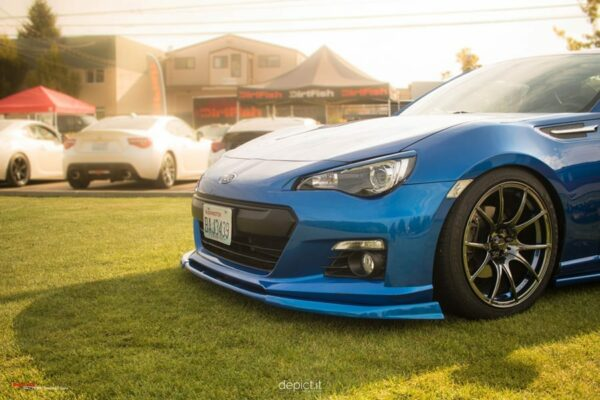 Scion FR-S and Subaru BRZ Front splitter lip 2013 2014 2015 2016