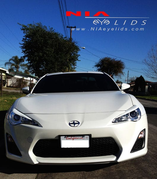 Scion FR-S and Toyota gt86 Subaru brz NIA eyelids 2013 2014 2015 2016