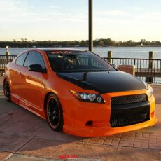 scion tc eyelids 2005 eyebrows body kit