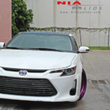 Scion tc 2014 2015 2016 eyelids eyebrows Color matched