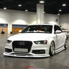 Audi A4 ground effects kit body lip