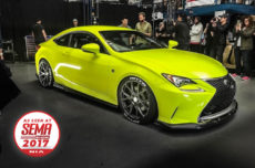 as seen at sema show 2017 nia auto design lexus RC 200t 300 350 f sport base model 2015 2016 2017 2018 full splitter kit lip body kit