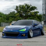 Scion FRS and Subaru BRZ full Splitter kit, front, sides, rear spats 2
