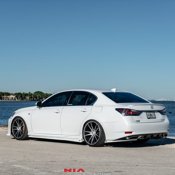 2014 Lexus Gs350: Lexus GS NIA Side Skirts Splitter Lip (2013+)