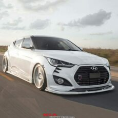 hyundai veloster splitter body kit
