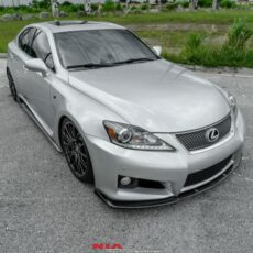 2006 2007 2008 2009 2010 2011 2012 2013 2014 Lexus IS-F Front Splitter Lip Body Kit 2