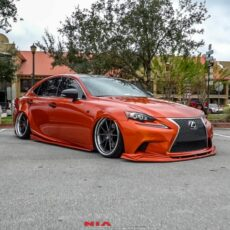 Lexus IS f Sport Body Kit Completo Frente, Estribos, Aletas Traseras, Difusor 2014 2015 2016