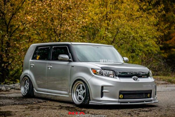 scion xb front splitter front ground effects body kit lip kit aero