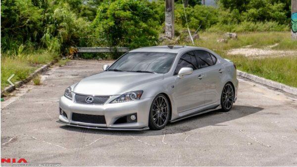 nia Estribos Laterales lexus isf is-f side difusores splitter lips 2006 2007 2008 2009 2010 2011 2012 2013 2014