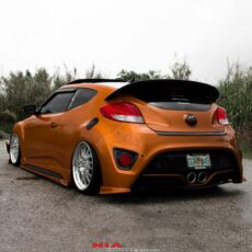 veloster turbo rear aprons rear extension rear bumper lip