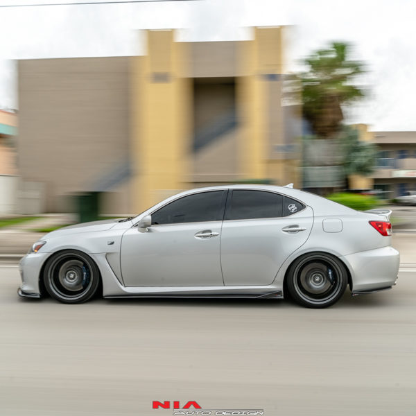 2006 2007 2008 2009 2010 2011 2012 2013 2014 Lexus IS-F Side Skirt Splitter Extensions