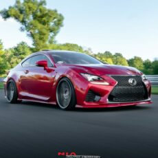 lexus rcf front ground effects kit