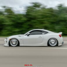 Toyota 86 Scion fr-s Subaru brz V.2 Side skirt extension splitters 3