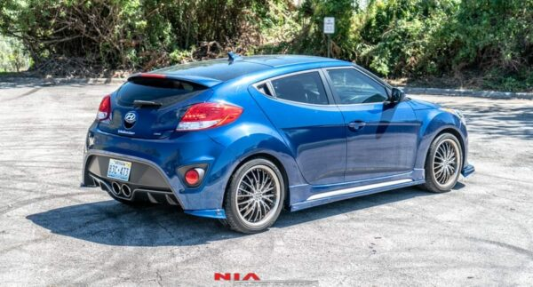 hyundai veloster side splitters side skirts