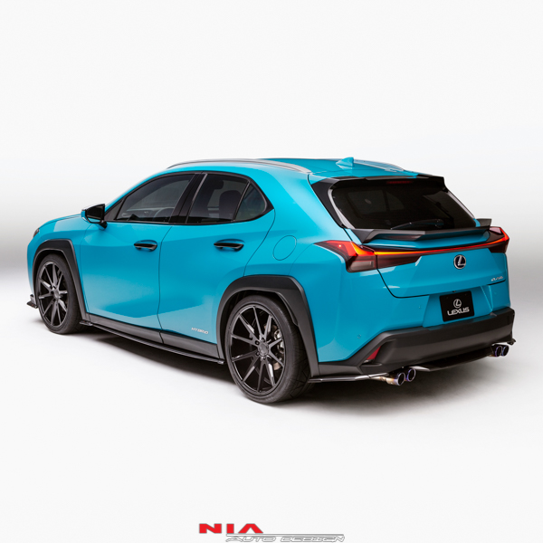 Lexus UX NIA Rear Lip Spats 2019+