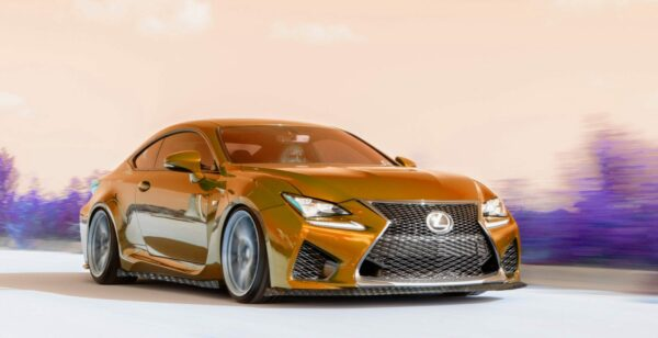 Lexus RC-F NIA Carbon Fiber Splitter Body Kits front splitter side skirts rear spats splitter lip kit