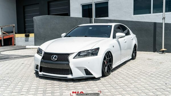 lexus gs450h front splitter lip ground effects spoiler