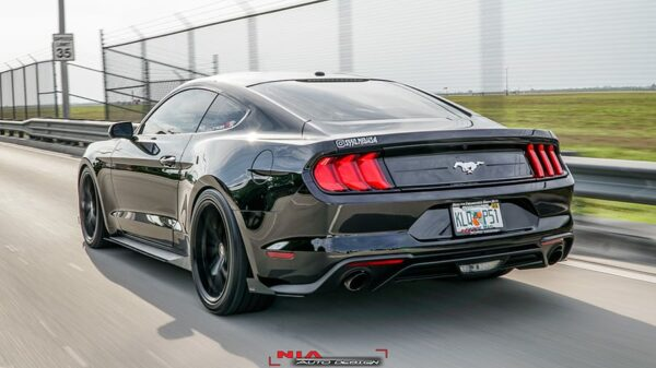 2018 mustang s550 rear body lip kit