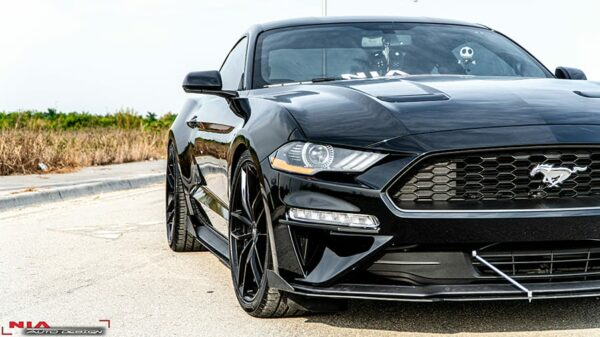 2019 mustang gt front lip diffuser